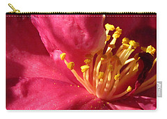 Carry-all Pouch featuring the photograph Pollen Pregnant 2 by Robert Knight