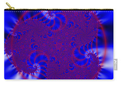 Carry-all Pouch featuring the digital art Pollfengra by Andrew Kotlinski