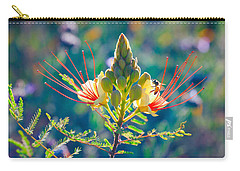 Carry-all Pouch featuring the photograph Pollination by Ram Vasudev
