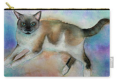 Pollyanna Carry-all Pouch by Janet Immordino