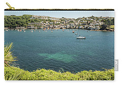 Polruan From Fowey, Cornwall Carry-all Pouch by Hazy Apple