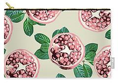 Pomegranate Pattern Carry-all Pouch by Uma Gokhale