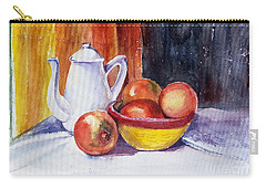 Pomegranates And Tea-pot Carry-all Pouch