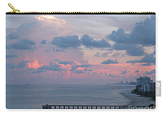 Pompano Pier At Sunset Carry-all Pouch
