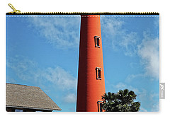 Ponce Inlet Light Carry-all Pouch by Paul Mashburn