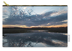 Pond And Sky Reflection3a Carry-all Pouch