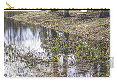 Pond Bench Ponderings Carry-all Pouch
