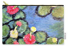 Pond Flowers Carry-all Pouch