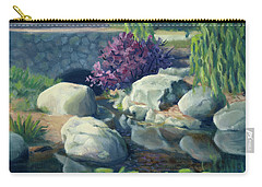 Pond Of Reflection Carry-all Pouch