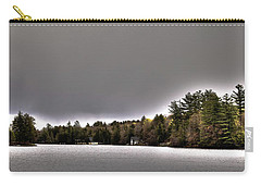 Pond Panorama Carry-all Pouch by David Patterson
