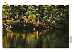 Pond Reflections Carry-all Pouch by Katie Wing Vigil