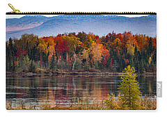Pondicherry Fall Foliage Reflection Carry-all Pouch