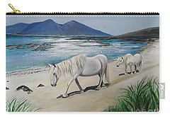 Ponies Of Muck- Painting Carry-all Pouch