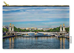 Pont Alexandre IIi Carry-all Pouch by Anthony Dezenzio