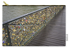 Pont Des Artes Carry-all Pouch by Allen Sheffield
