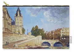 Pont Saint Michel, Paris Carry-all Pouch
