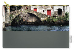Carry-all Pouch featuring the photograph Ponte Della Civera by Jim Hill