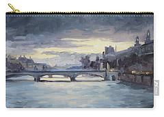 Pont Du Carrousel, Paris Carry-all Pouch