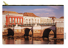 Ponte Romana And River Gilao- Tavira Carry-all Pouch