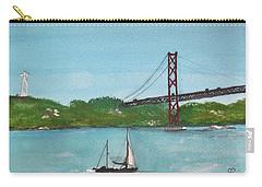 Ponte Vinte E Cinco De Abril Carry-all Pouch by Carole Robins