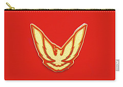 Pontiac Firebird Emblem Carry-all Pouch
