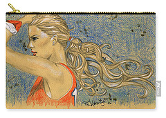 Ponytail Run Carry-all Pouch by P J Lewis