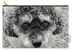 Poodle Eyes Carry-all Pouch