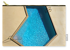 Pool Modern Carry-all Pouch by Laura Fasulo
