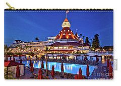 Poolside At The Hotel Del Coronado  Carry-all Pouch