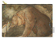 Poor Little Basse Carry-all Pouch