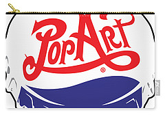 Pop Art Bottle Cap Carry-all Pouch
