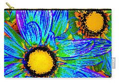 Pop Art Daisies 4 Carry-all Pouch