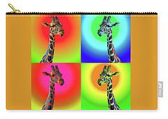 Pop Art Giraffe Carry-all Pouch