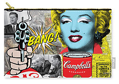 Pop Art Montage Carry-all Pouch