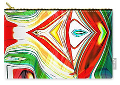 Pop Art Pop Carry-all Pouch by Carolyn Repka
