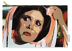 Pop Art Princess Leia Organa Carry-all Pouch