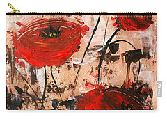 Pop Goes The Poppies Carry-all Pouch