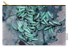 Carry-all Pouch featuring the photograph Pop Macro No. 1 by Laura Melis