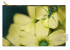 Carry-all Pouch featuring the photograph Pop Macro No. 2 by Laura Melis