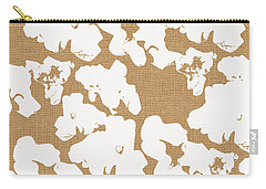 Popcorn- Art By Linda Woods Carry-all Pouch by Linda Woods