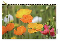 Carry-all Pouch featuring the photograph  Poppies 1 by Werner Padarin