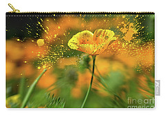 Poppies Are Popping Carry-all Pouch