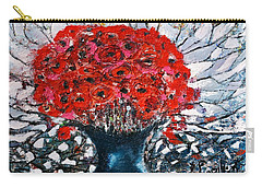 Poppies Carry-all Pouch by Evelina Popilian