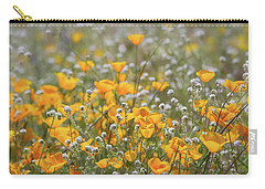 Carry-all Pouch featuring the photograph Poppies Fields Forever  by Saija Lehtonen