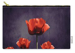 Poppies Fun 01b Carry-all Pouch