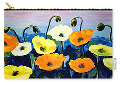 Poppies In Colour Carry-all Pouch