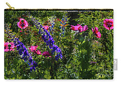 Poppies Carry-all Pouch by Lisa L Silva