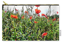 Poppies Tower Above You Carry-all Pouch