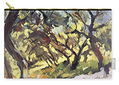 Popping Sunlight Through The Olive Grove Carry-all Pouch