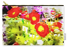 Poppy Abstract Thoughts Carry-all Pouch